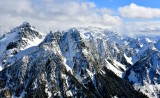 Gothic Peak, Del Campo Peak, Wilman Peak and Columbia Peak, Cascade Mountains, Washington 071