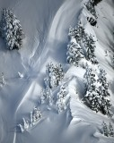 Heavy snow on Boomerang Peak, Cascade Mountains, Washington 148