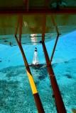 Alligator Reef Lighthouse from Legend Cub, Alligator Reef, Islamorada, Florida Keys, Florida 473