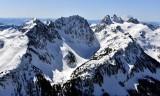 Summit Chief Mountain, Overcoat Glaicier, Overcoat Peak, Chimney Rock, Mount Rainier, Cascade Mountains, Washington 462