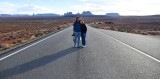 Garrett and Llesa at Forrest Gump Viewpoint and Monument Valley, Utah 520