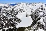Blanca Lake, Columbia Peak, Columbia Glacier, Keys Peak, Monte Cristo, Three Fingers, Whitehorse Mountain, Mt Baker 355