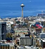 Space Needle and South Lake Union and Amazonland, Seattle, Washington 005