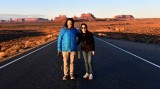 Garrett and Llesa at Forrest Gump's Viewpoint to Monument Valley, Utah 204