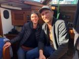 Milan and Johan of s/y RAN Sailing