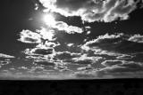 Arizona Sky Looking toward Kayenta, Arizona 177