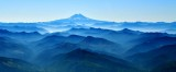 Peaks and Valleys to Mount Adams from Piper Meridian airplane at 9500 feet 165