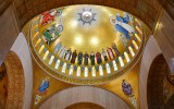 The Trinity Dome Mosaic, Basilica of the National Shrine of the Immaculate Conception, Capital Hill, Washington DC 105