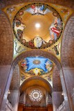 The Redemption Dome Mosaic, The Incarnation Dome Mosaic, Pipe Organ, Rose Window, Washington DC 185
