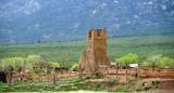 Taos Pueblo or Pueblo de Taos, Old Church and Cemetery, New Mexico 033