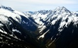 Boston Peak and Glacier, Sahale Mountain, Cascade Pass, Cascade Peak, Johannesburg Mtn, The Triplets, Mix-Up Peak, North Cascade