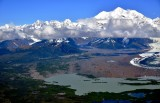 Mount Fairweather, Sea Otter Glacier, Fairweather Range, Glacier Bay National Monument, Alaska 716