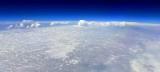 Line of Severe Thunderstorm across Kansas, Oklahoma, Missouri from 41,000 feet 156