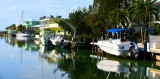 Homes along Apache Street, Islamorada, Florida Bay, Florida Keys, Plantation Key, Florida  009