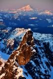 Chimney Rock, Glacier Peak, Cascade Mountains, Washington 498