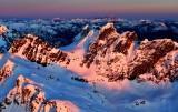 Golden light over Overcoat Peak, Iceberg Lake, Chimney Rock, Mount Stuart Range, Cascade Mountains, Washington 629