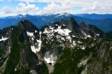 Garfield Mountain, Treen Peak, Chair Peak, Kaleetan Peak, Mt Roosevelt, Preacher Mountain, Wild Dare, Cascade Mountains