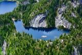AERIAL MOUNTAIN LAKES