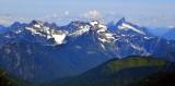 Twin Peaks, Columbia Peak, Wilmans Peaks, Columbia Glacier, Monte Cristo, Kyes Peak, Sloan Peak, Bedal Peak, Mt Pugh