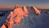 Three Fingers Mountain and Lookout with Glacier Peak, Cascade Mountains, Washington 438