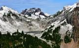 Vesper Peak, Lake Elan, Sperry Peak, Big Four Mountain, Mt Adams, Cascade Mountains, Washington 547
