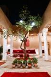 Courtyard in Saudi Home, Riyadh, Saudi Arabia KSA 049