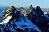 Lemah Mountain, Chimney Rock, Overcoat Peak, Glacier Peak, Cascade Mountains, Washington 346