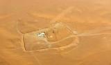 Barrier around compound, Saudi Desert, Riyadh Region, Saudi Arabia 135