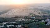 Dates Farms and Runway West of Riyadh, Saudi Arabia 500