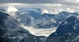 Low cloud over Tolt Reservoir, McLain Peaks, Mt Phelps, Cascade Mountains, Washington 119