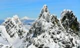 Overcoat Peak, Glacier Peak, Lemah Mountain, Chimney Rock, Cascade Mountains, Washington 326