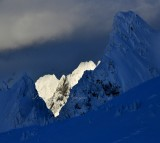 Spire Mountain through Gunn Peak, Cascade Mountains, Washington 216