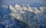 Frozen Mountain in Cascade Mountains, Washington 099a