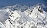 Gothic Peak, Foggy Lake, Del Campo Peak, Vesper Peak, Morning Star Peak, Three Fingers, Whitehorse Mountain, Washington 531