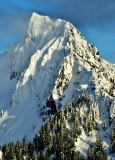 Gunsly Peak and Jumpoff Ridge, Cascade Mountains, Washington 402a