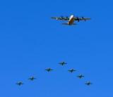 Saudi Hawks, Royal Saudi Air Force Aerobatic Team,  and C-130 Thumamah Airport, Riyadh, Saudi Arabia 300