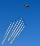 Saudi Hawks, Royal Saudi Air Force Aerobatic Team,  and C-130 Thumamah Airport, Riyadh, Saudi Arabia 301