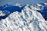 Heavy Snow and Severe Wind on Sloan Peak, Cade Peak, Monte Cristo Peak, Columbia Peak, Cascade Mountains, Washington 716