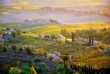 Sunrise in Montalcino, Tuscany, Italy 007