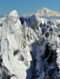 Garfield Mountain, Treen Peak, Glacier Peak, Cascade Mountains, Washington 187