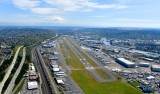 King County International Airport, Boeing Field, Boeing Airplane Company, Duwamish River, SeaTac Int'l Airport