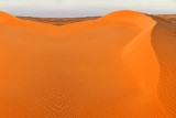 Sunrise on sand dune in Al Ghat Desert, Saudi Arabia 279a