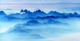 Overcoat Peak, Chimney Rock, Summit Chief, Lemah Mt, Cascade Mountains, Washington 160a
