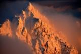 Merchant Peak at sunset, Cascade Mountains, Washington State 580a