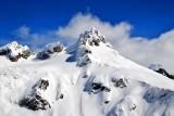 Dome Peak and Dome Glacier, North Cascades Mountain, Washington 133