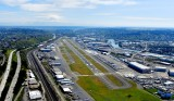 King County International Airport, Boeing Field, Boeing Airplane Company, Duwamish River, SeaTac International Airport,