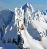 Pyramid Peak, Pinnacle Peak, Paul Bunyans Stump, North Cascades National Park, Washington 533
