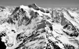 AERIAL MOUNT BAKER/MOUNT SHUKSAN