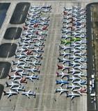 Boeing 737 MAX parked at Grant County Airport, Moses Lake, Washington 264