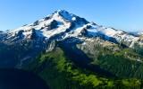 Glacier Peak, Kennedy Peak, North Guardian Rock, Ptarmigan Glacier, Vista Glacier, Ermine Glacier, Dusty Glacier, North Guardian